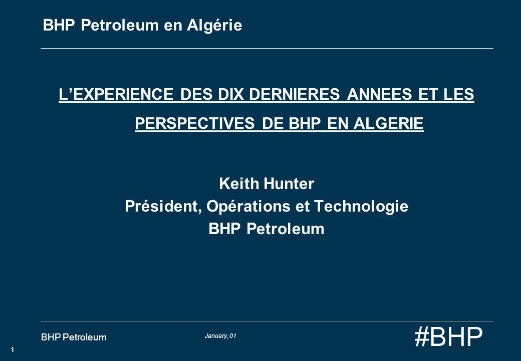 BHP Petroleum en Algérie