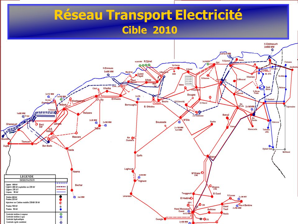 Réseau Transport Electricité