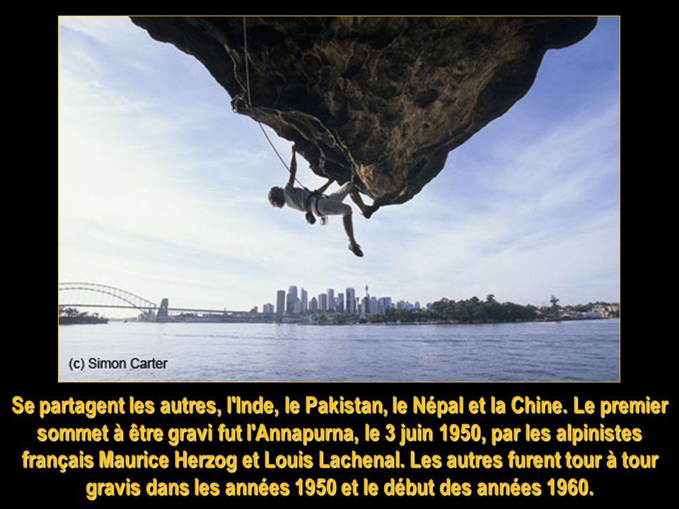 Se partagent les autres, l Inde, le Pakistan, le Népal et la Chine