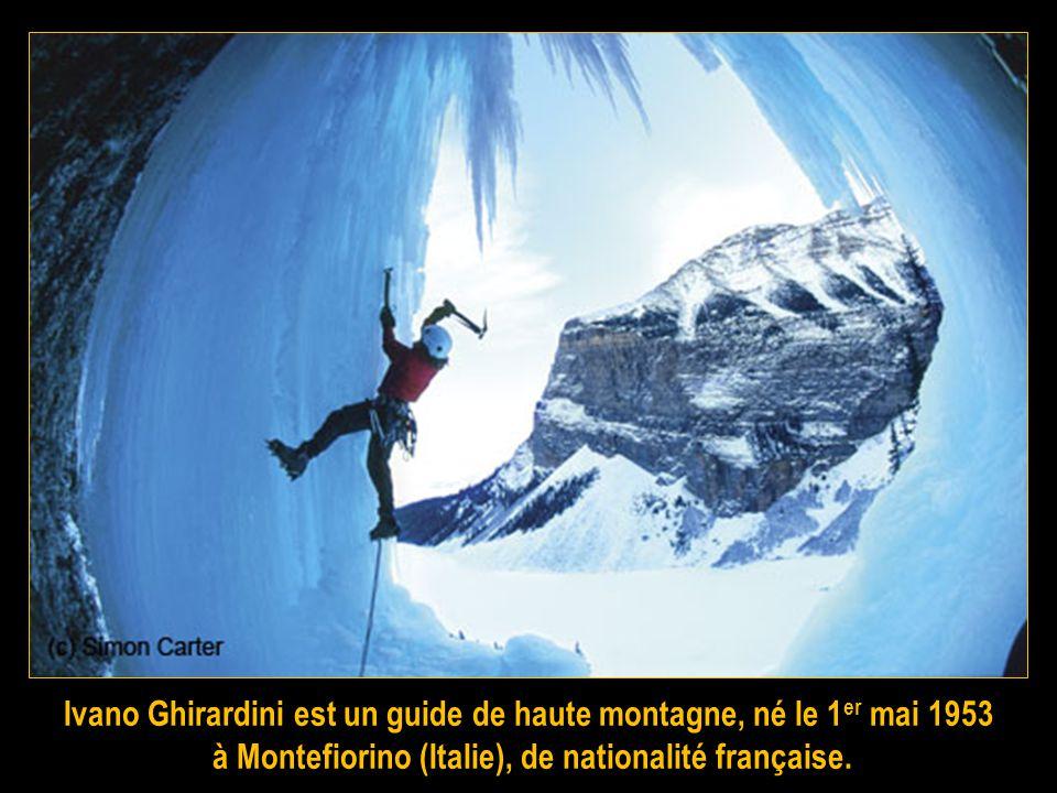 Ivano Ghirardini est un guide de haute montagne, né le 1er mai 1953