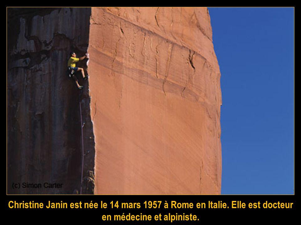 Christine Janin est née le 14 mars 1957 à Rome en Italie