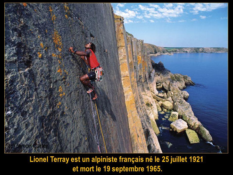 Lionel Terray est un alpiniste français né le 25 juillet 1921