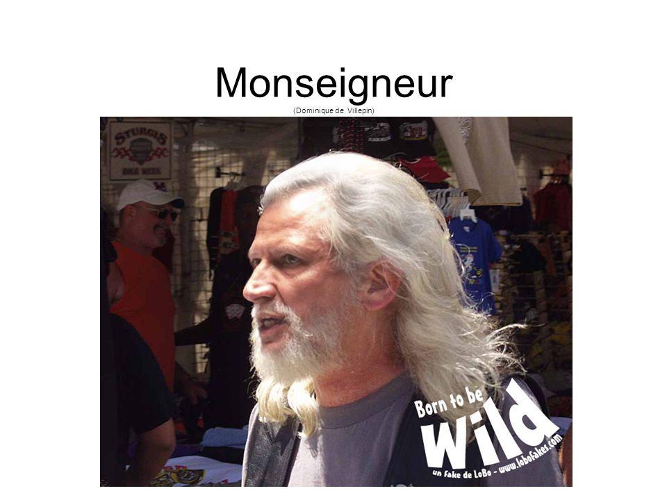 Monseigneur (Dominique de Villepin)