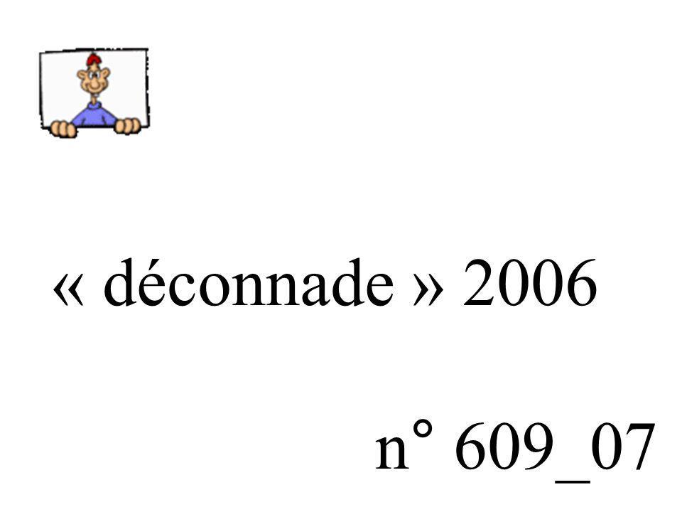 « déconnade » 2006 n° 609_07