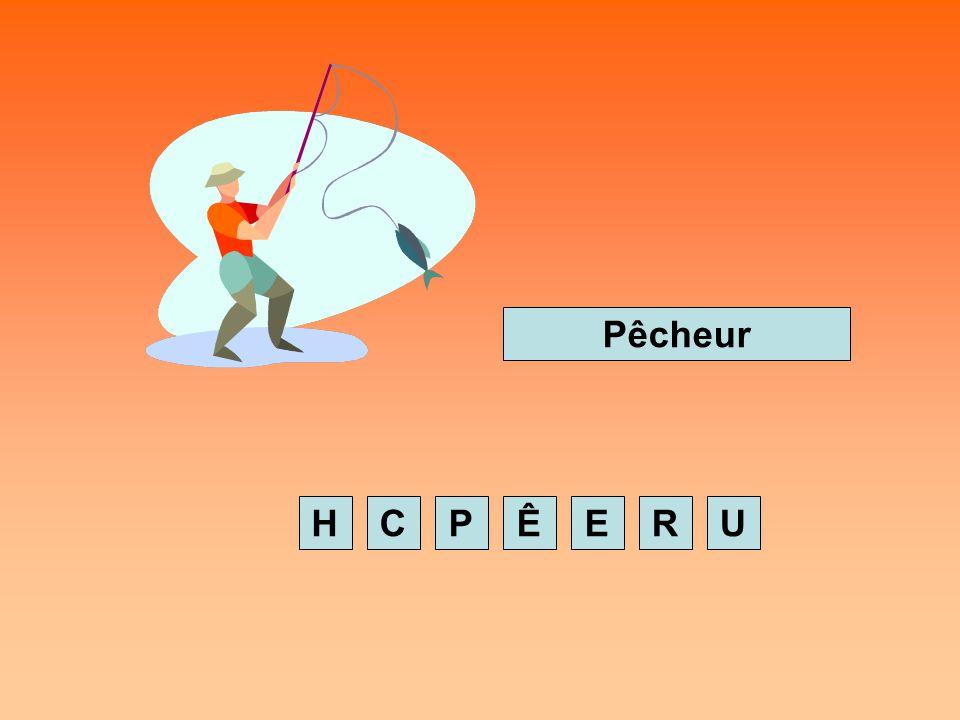 Pêcheur H C P Ê E R U
