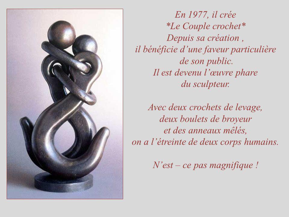 Il est devenu l'œuvre phare du sculpteur.