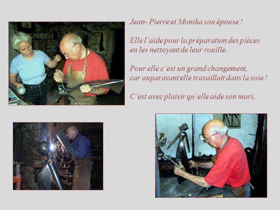 Jean- Pierre et Monika son épouse !