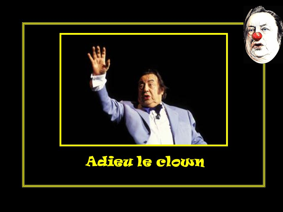 Adieu le clown