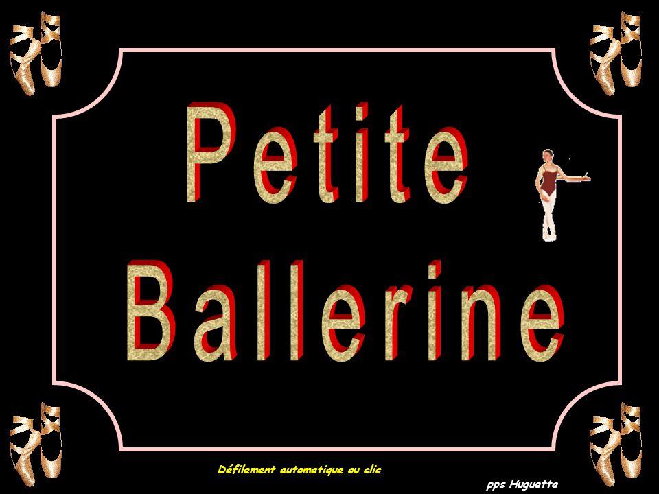 pps Huguette Petite Ballerine Défilement automatique ou clic