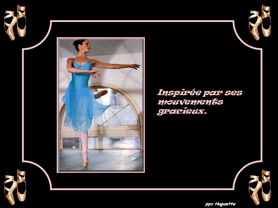Inspirée par ses mouvements gracieux,