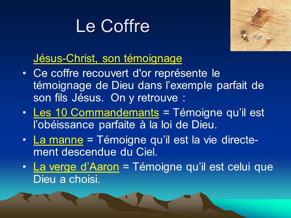 Le Coffre Jésus-Christ, son témoignage