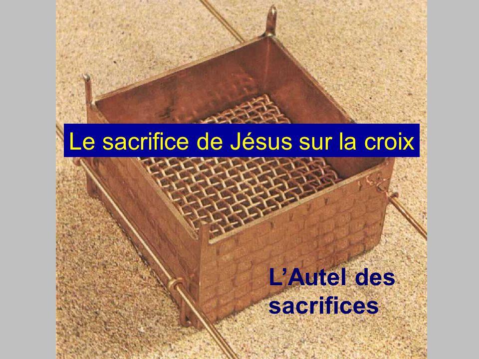 Le sacrifice de Jésus sur la croix
