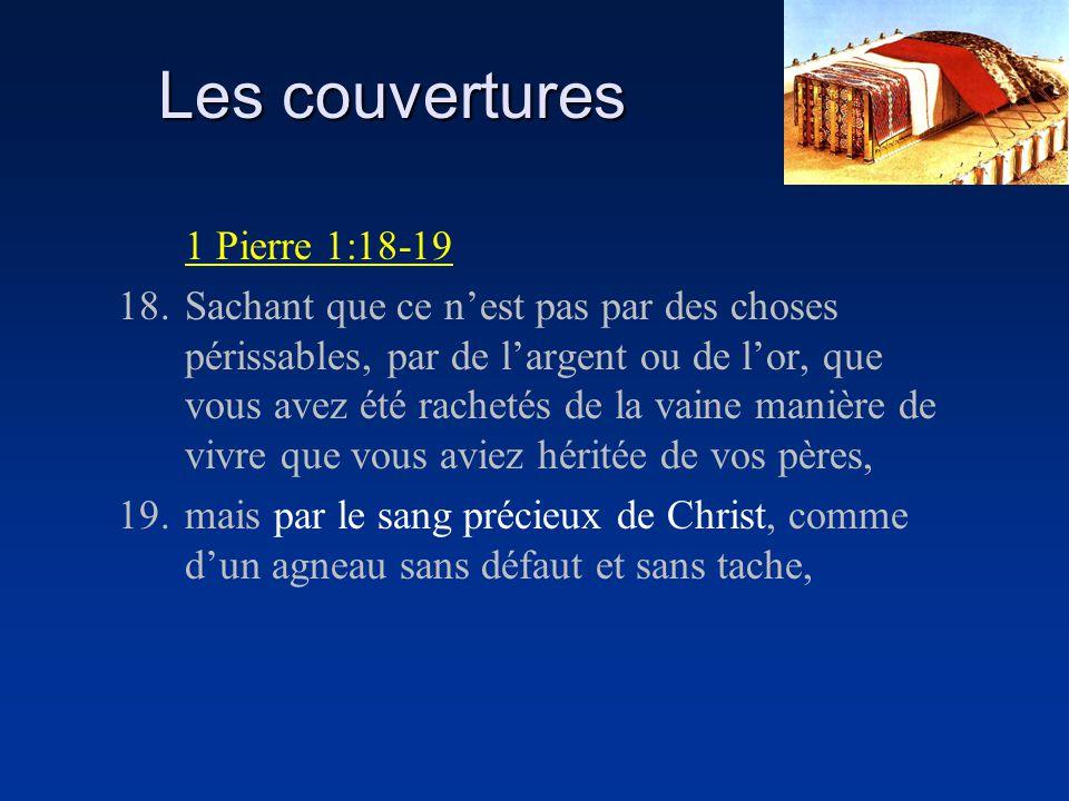 Les couvertures 1 Pierre 1:18-19