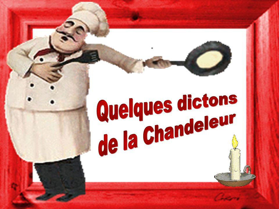 Quelques dictons de la Chandeleur