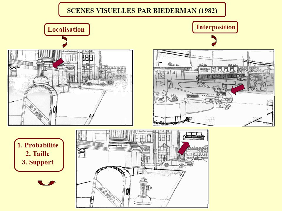SCENES VISUELLES PAR BIEDERMAN (1982)