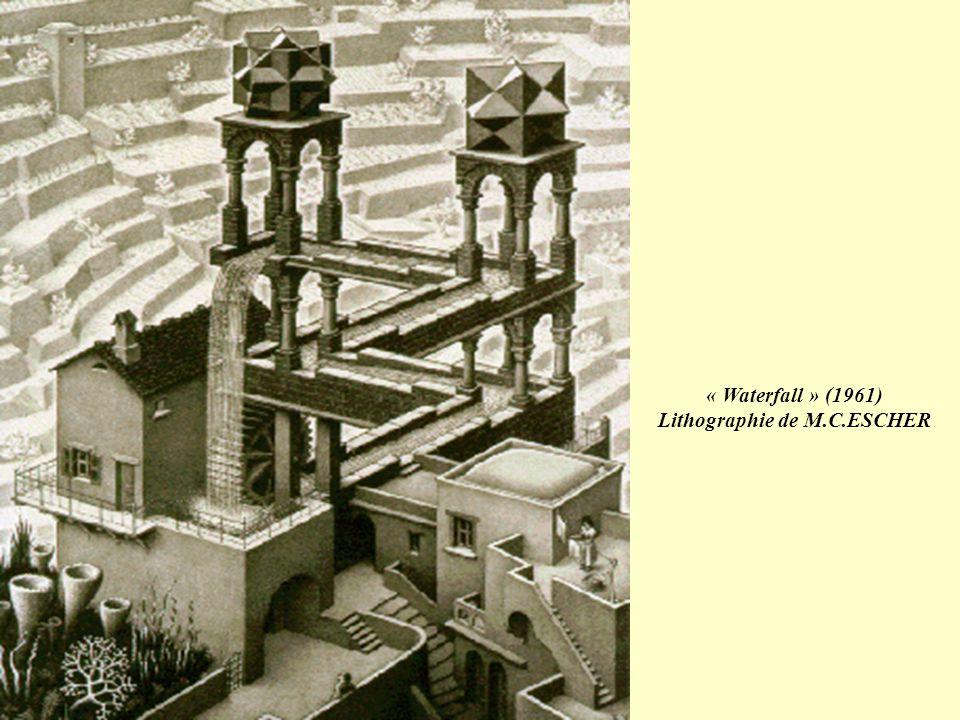 Lithographie de M.C.ESCHER