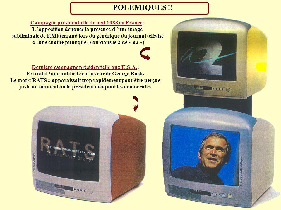 POLEMIQUES !! Campagne présidentielle de mai 1988 en France: