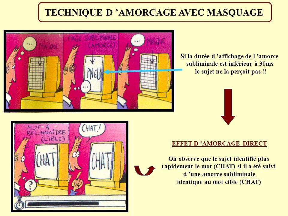 TECHNIQUE D 'AMORCAGE AVEC MASQUAGE
