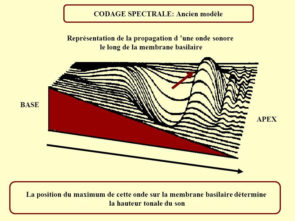 CODAGE SPECTRALE: Ancien modèle