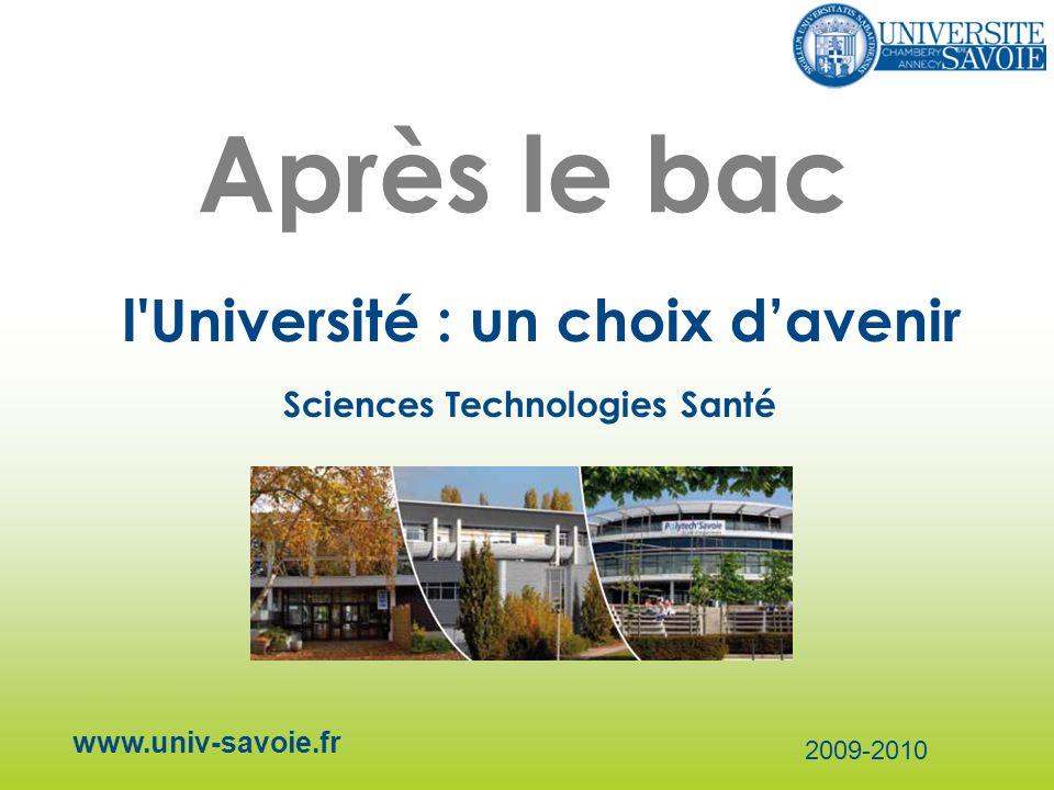 Après le bac l Université : un choix d'avenir