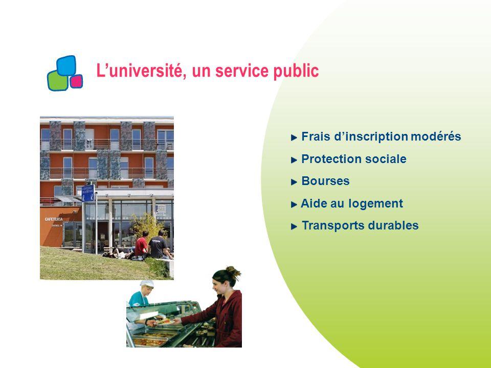 L'université, un service public