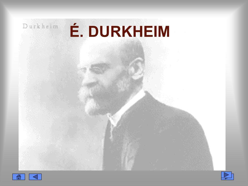 É. DURKHEIM