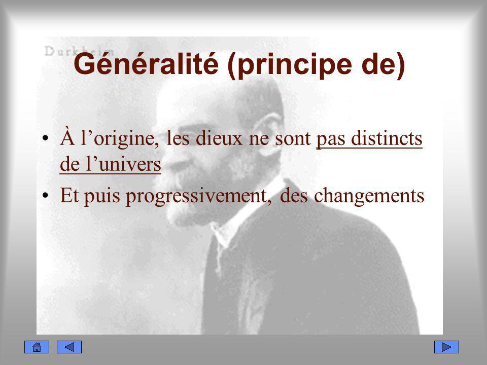 Généralité (principe de)