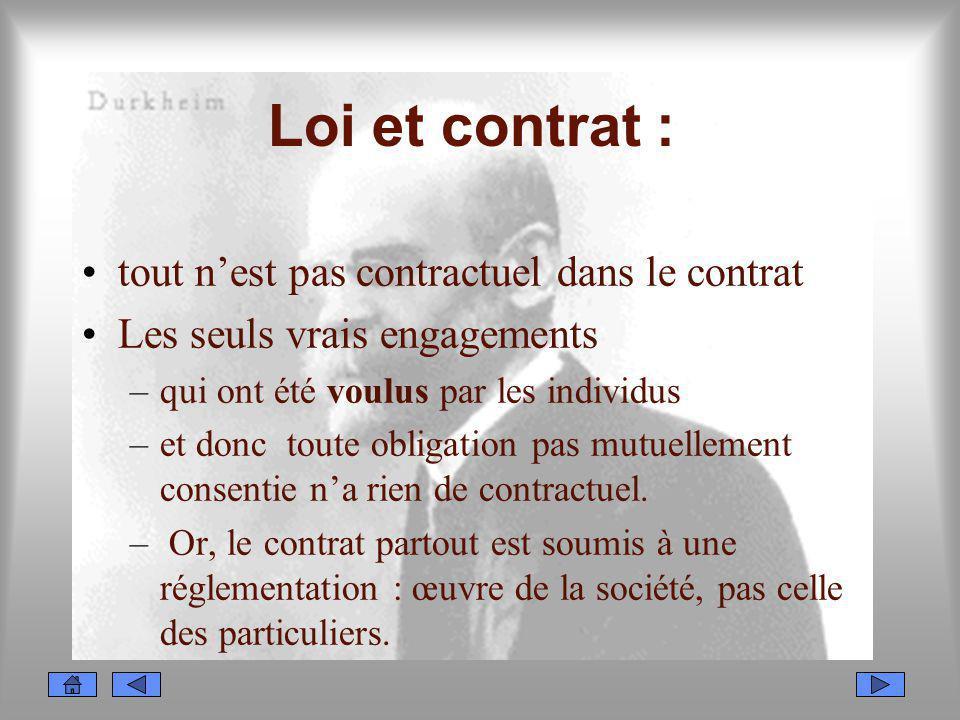 Loi et contrat : tout n'est pas contractuel dans le contrat