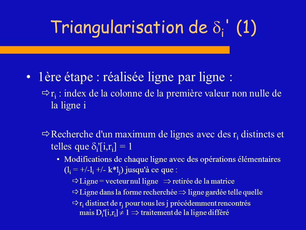 Triangularisation de di (1)