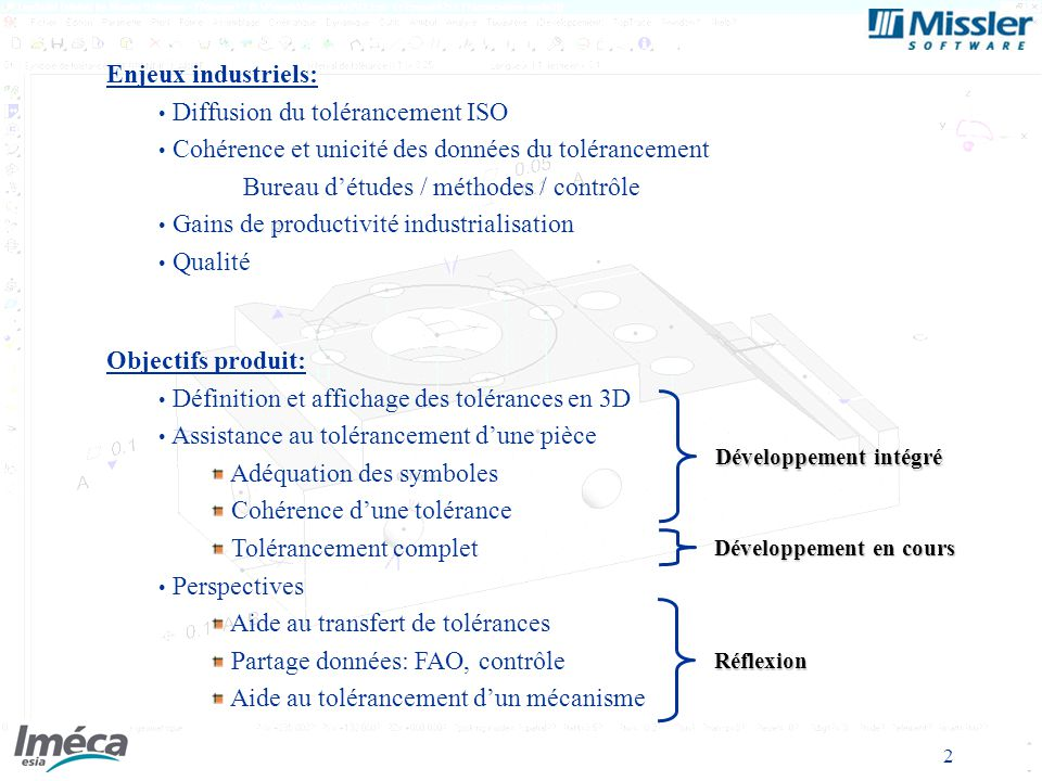 Diffusion du tolérancement ISO