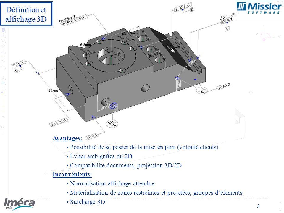 Définition et affichage 3D