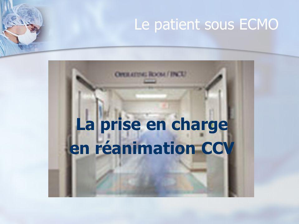 La prise en charge en réanimation CCV