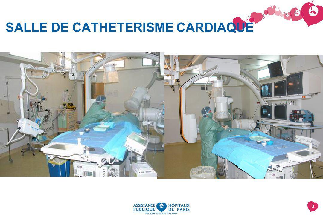SALLE DE CATHETERISME CARDIAQUE