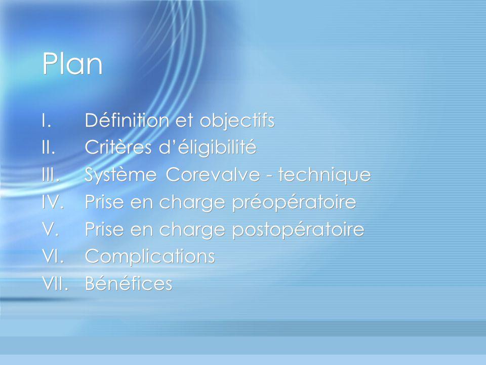 Plan Définition et objectifs Critères d'éligibilité