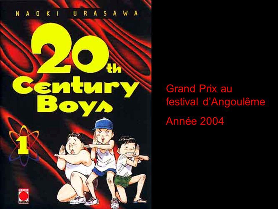 Grand Prix au festival d'Angoulême