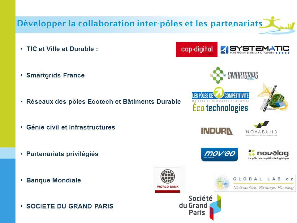 Développer la collaboration inter-pôles et les partenariats