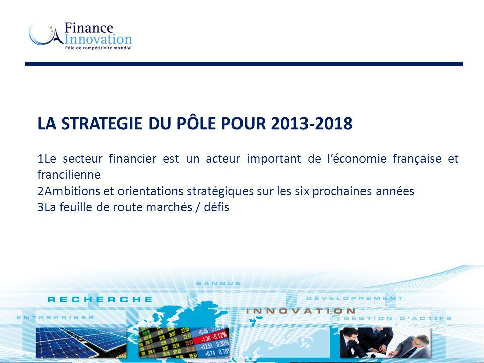 LA STRATEGIE DU PÔLE POUR 2013-2018