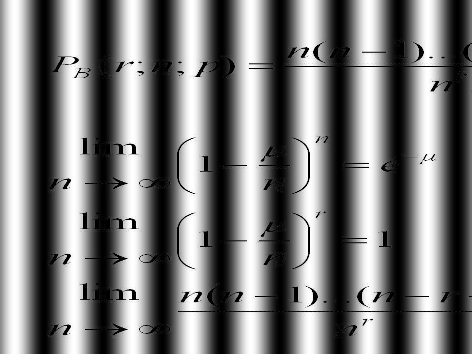 Pour la première relation, on note que pour µ=0, ça fonctionne et que par la suite, les deux expressions ont la même dérivée df/dµ.