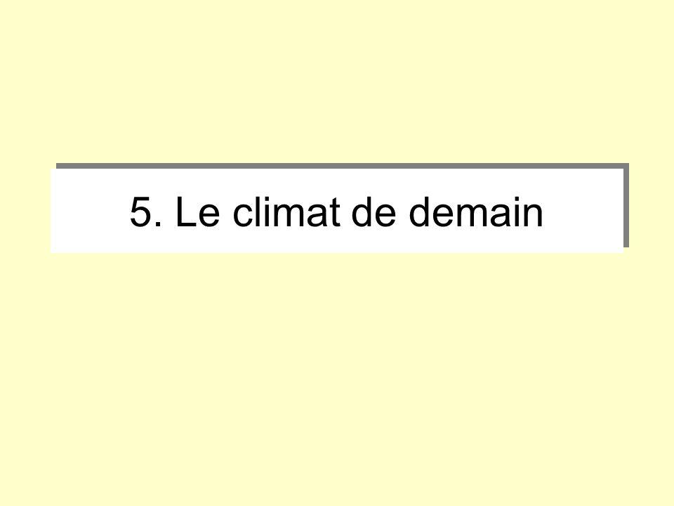 5. Le climat de demain