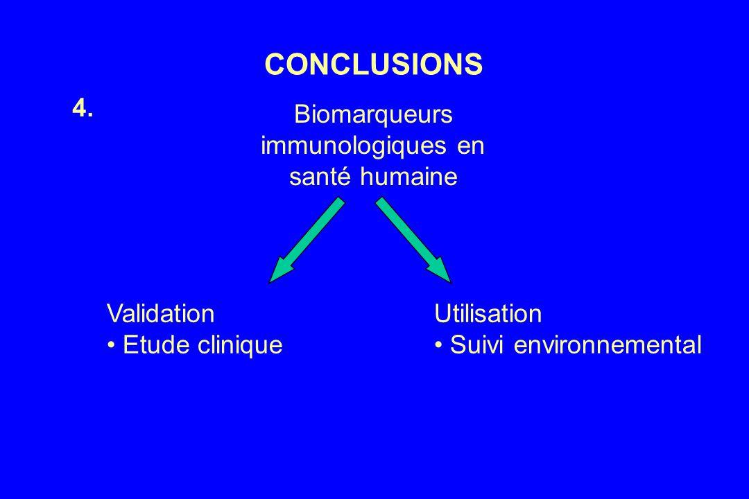 Biomarqueurs immunologiques en