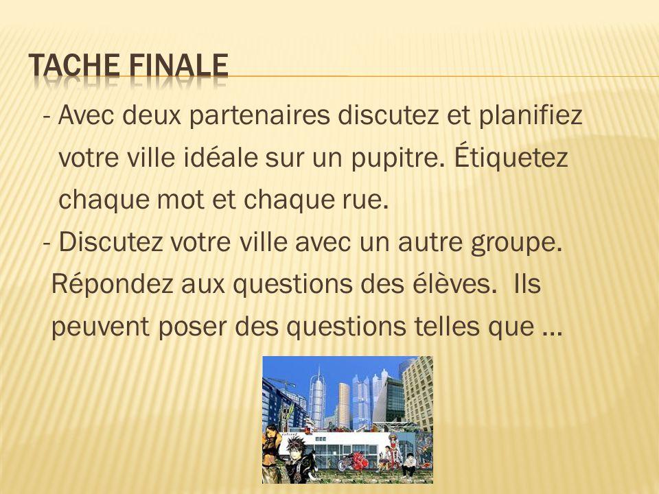 Tache finale