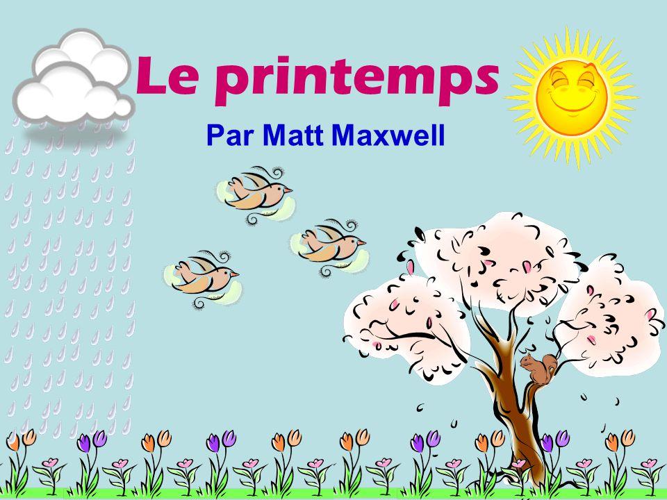 Le printemps Par Matt Maxwell