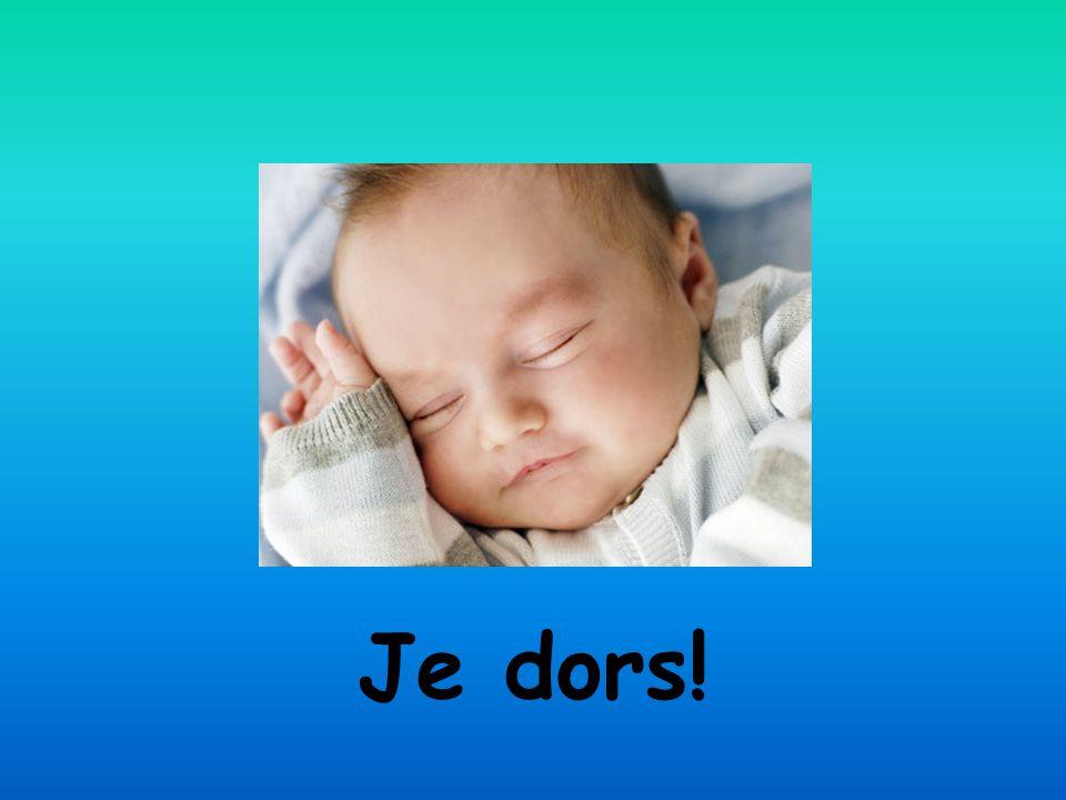 Je dors!