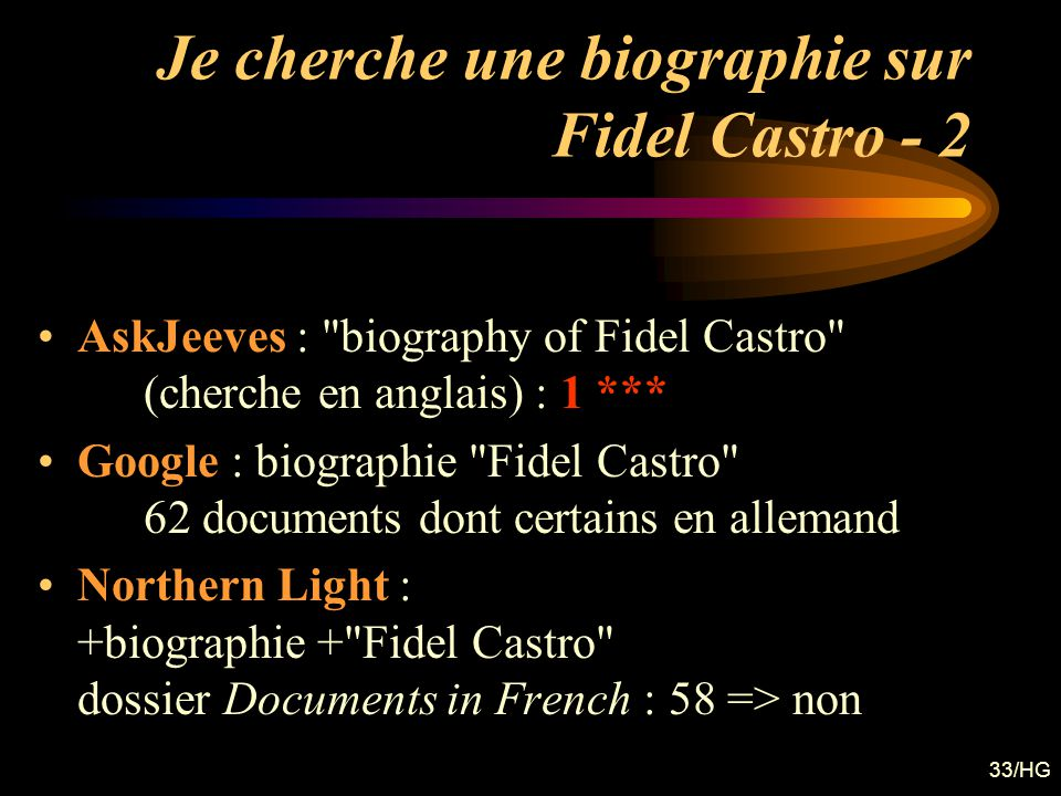 Je cherche une biographie sur Fidel Castro - 2