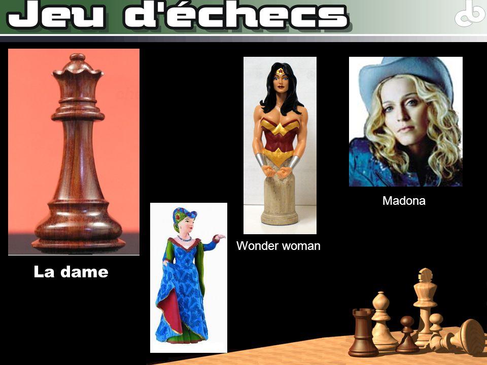 Madona Wonder woman La dame