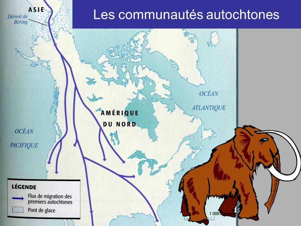 Les communautés autochtones