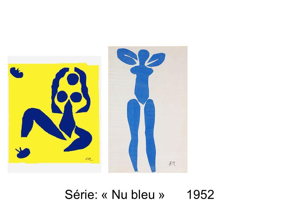 Série: « Nu bleu » 1952