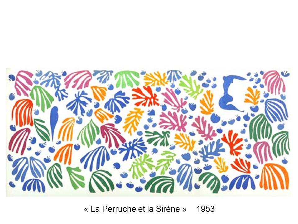 « La Perruche et la Sirène » 1953