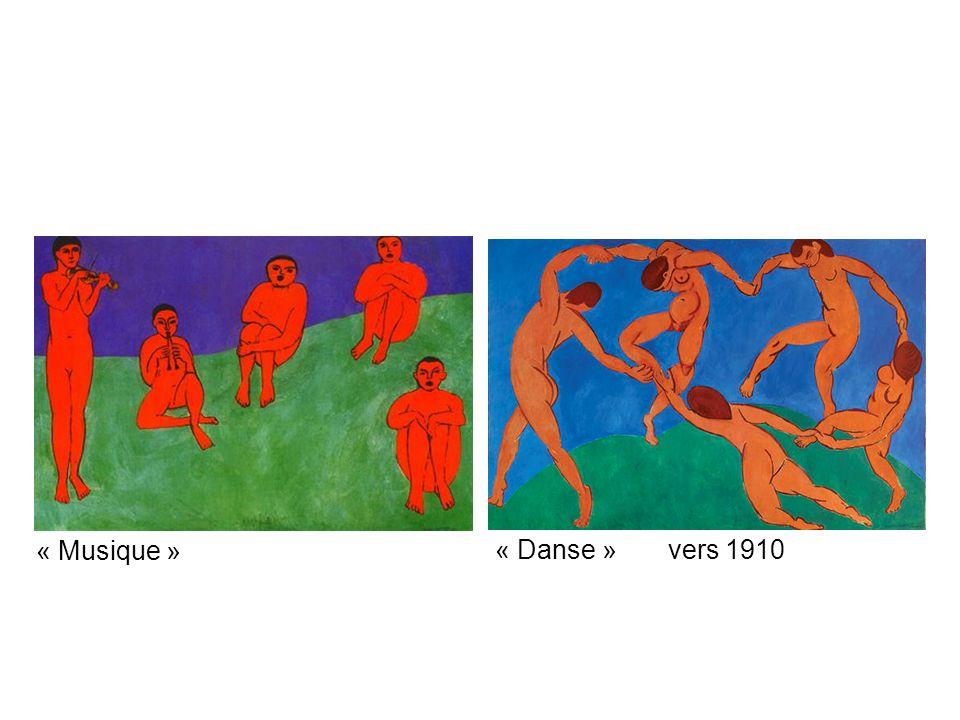 « Musique » « Danse » vers 1910