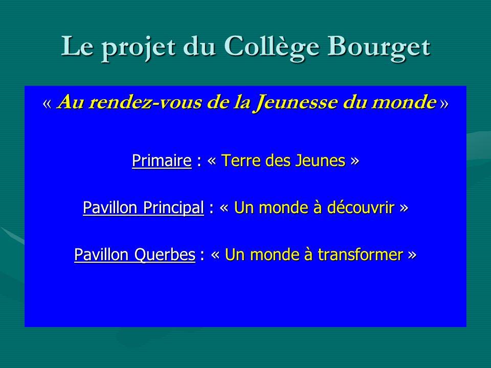 Le projet du Collège Bourget